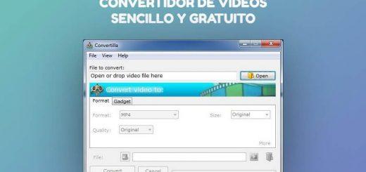 Convertidor de vídeos sencillo
