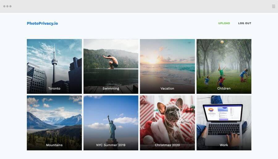 PhotoPrivacy: almacenamiento privado y seguro para tus fotos