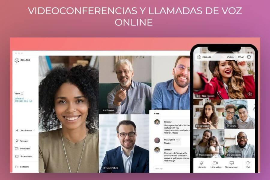 Videoconferencias y llamadas de voz