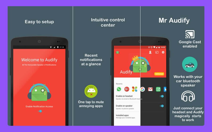 Escuchar las notificaciones en voz alta con estas 3 apps Android