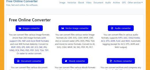 Convertir todo tipo de archivos