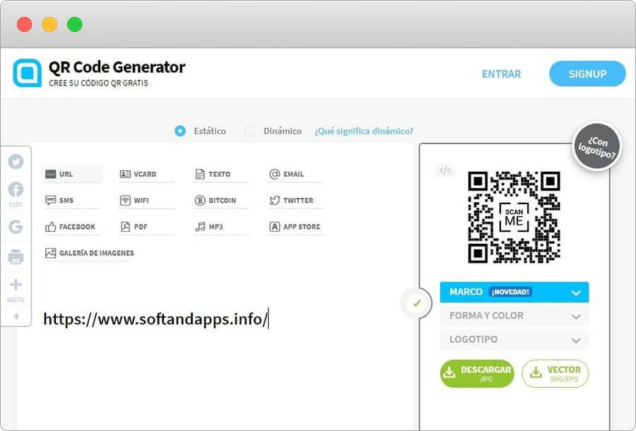 Crear online códigos QR con esta genial aplicación web