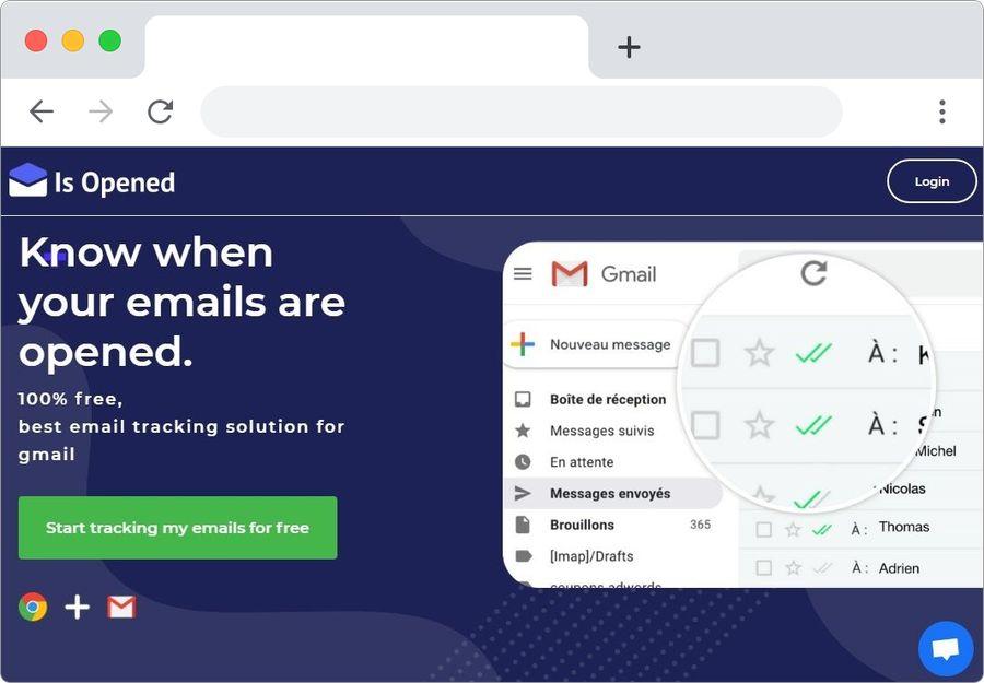 Is Opened: recibe confirmación de lectura de tus correos de Gmail