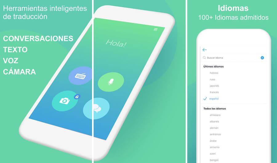 Translate Me: app móvil de traducción y diccionario en más de 100 idiomas