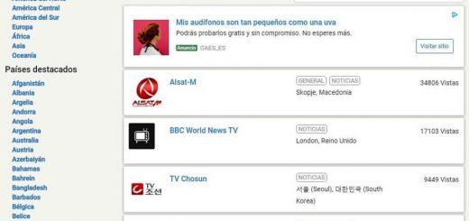 Ver televisiones online en Streema TV