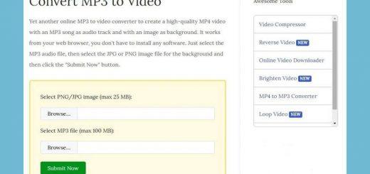 Convertir un Mp3 y una imagen a vídeo
