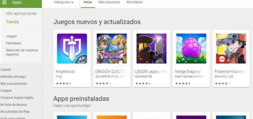 Descargar el APK de Google Play Store