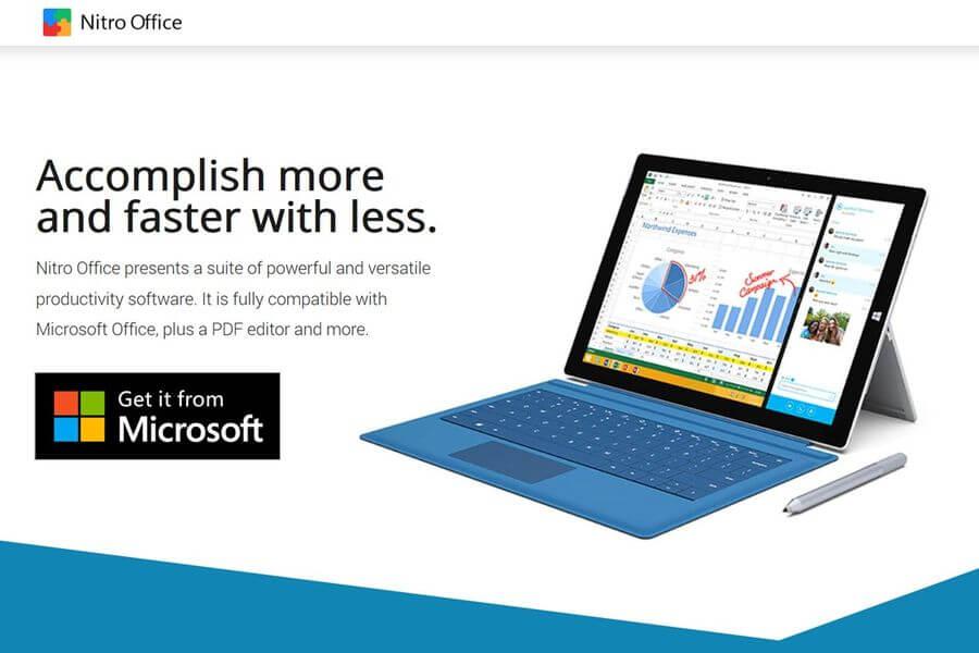Nitro Office: alternativa gratuita a Microsoft Office para Windows 10