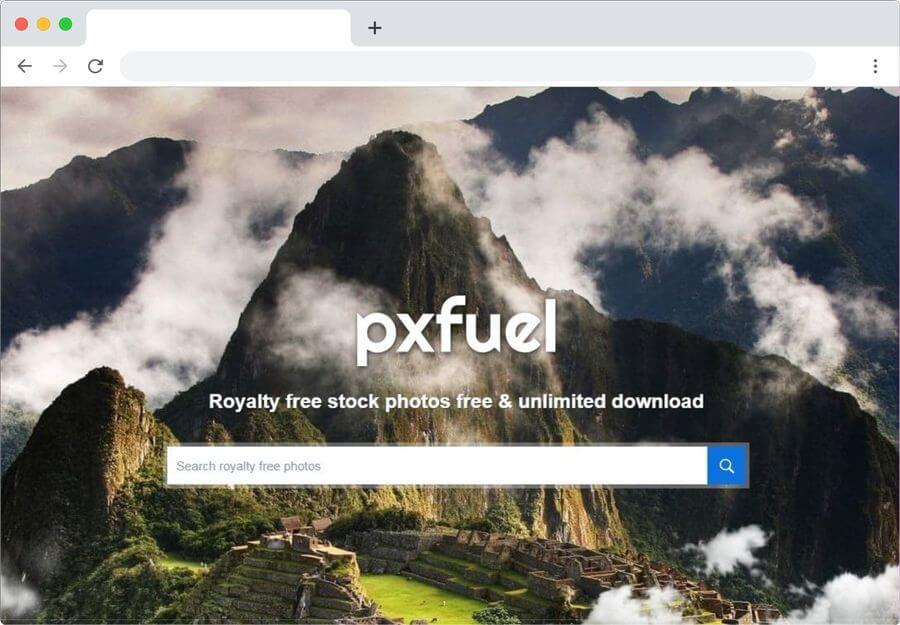 Pxfuel: otro impresionante banco de imágenes gratuitas