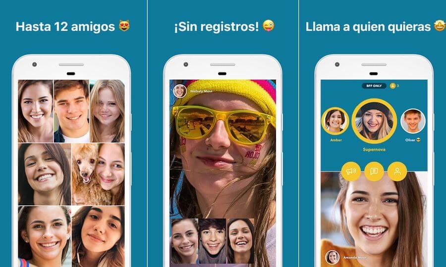 Zooroom: aplicación Android para videollamadas grupales