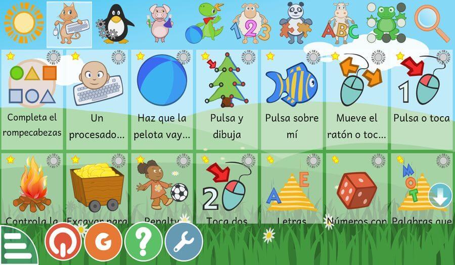 GCompris: software con más de 100 actividades educativas para niños
