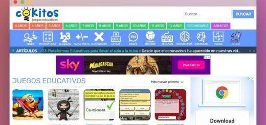 Juegos educativos online para niños y mayores