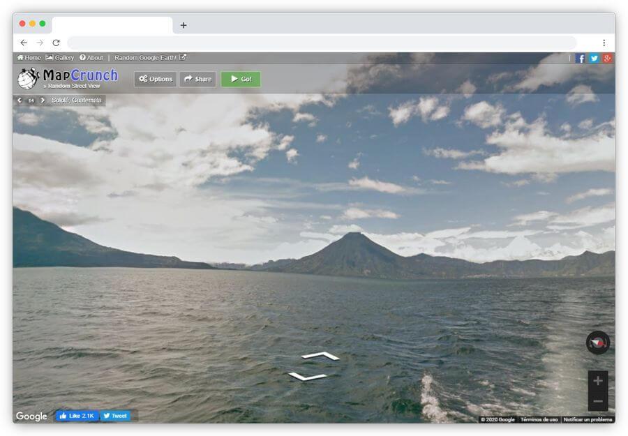 MapCrunch: visita de forma aleatoria los lugares más hermosos del mundo