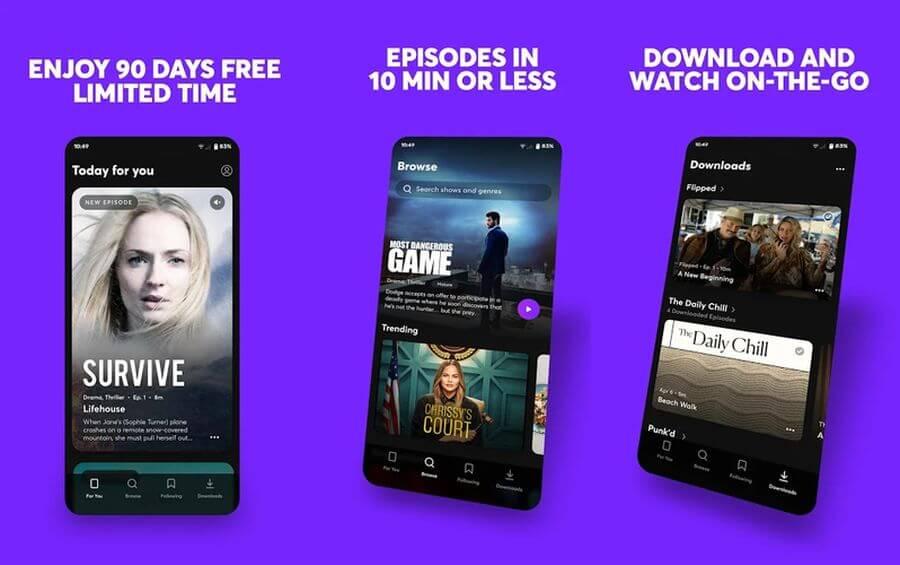 """Quibi: disponible el """"Netflix"""" de episodios cortos con 3 meses gratis"""