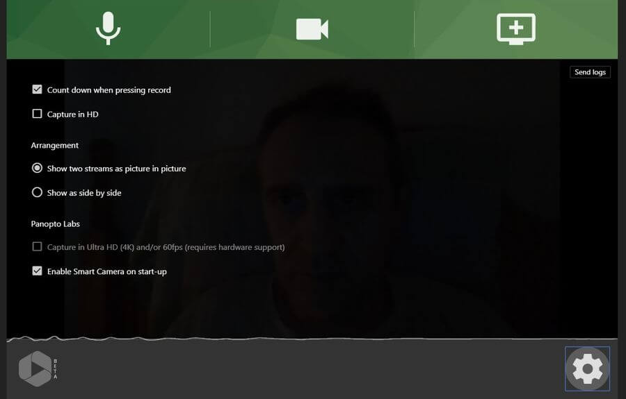 Panopto Express: web para grabar vídeos para tus clases o tutoriales