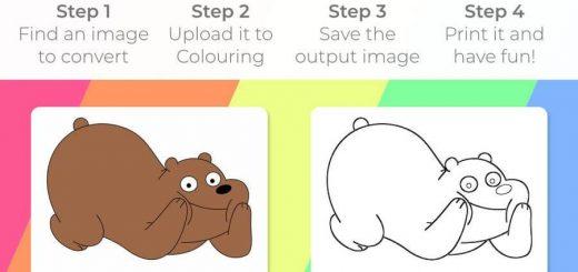 Crear dibujos para colorear para niños