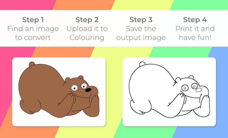 Crear Dibujos Para Colorear Para Ninos Facilmente Con Colouring