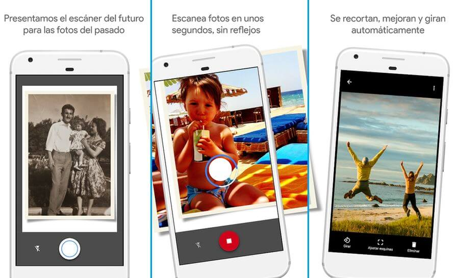 FotoScan: Google lanza app móvil para restaurar viejas fotos