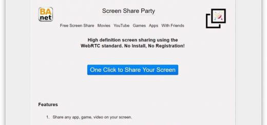 Screen Share Party