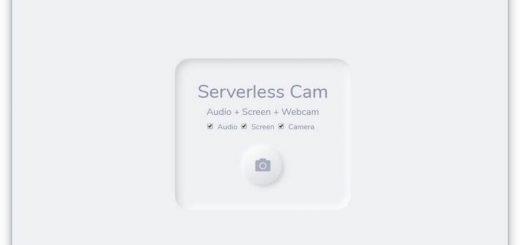 Serverless Cam