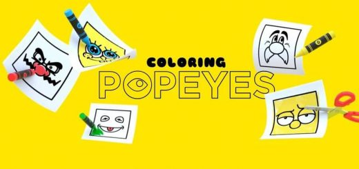 Coloring Popeyes
