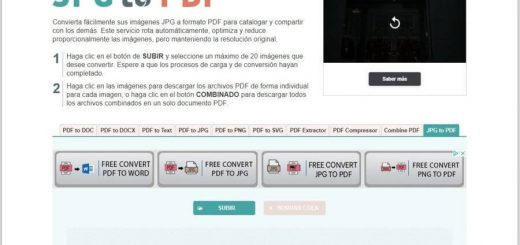 Cómo convertir JPG a PDF online