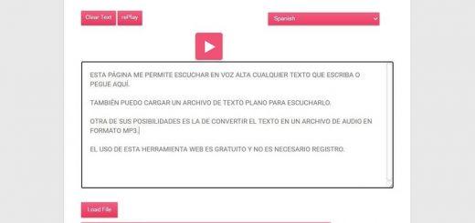Convertir Texto a Voz y a Mp3 online