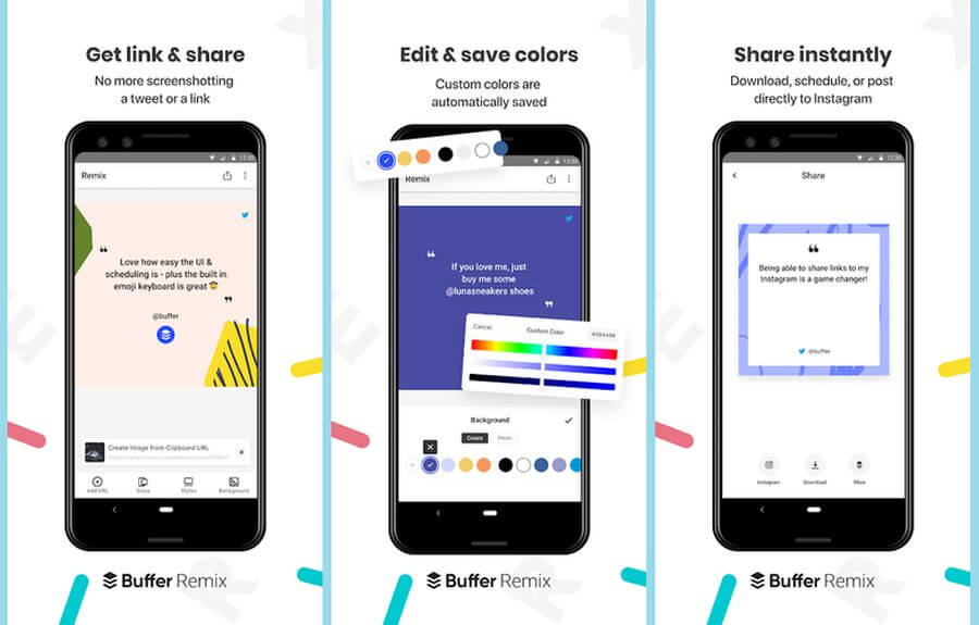 Convertir enlaces en imágenes sociales con una app Android gratuita