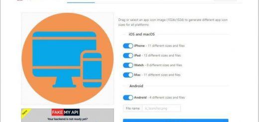 Crear iconos para apps online y gratis