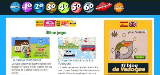 Juegos educativos para niños en Vedoque