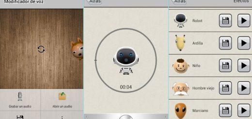 Modificador de voz gratuito para Android