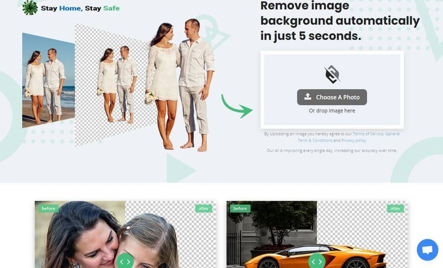 Slazzer: eliminar el fondo de imágenes de forma automática