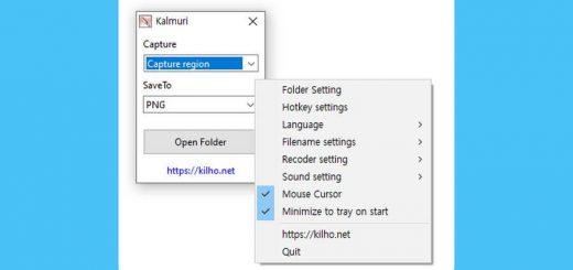 Capturar y grabar la pantalla gratis con Kalmuri