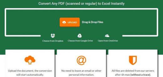 Convertir PDF a Excel online y gratis