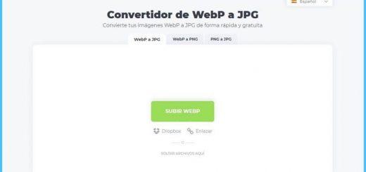 Convertir WebP a JPG online y gratis
