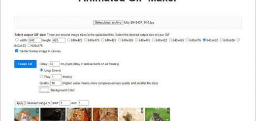 Crear y editar animaciones GIF gratis