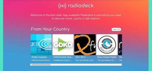 Escuchar emisoras de radio online y gratis en Radiodeck