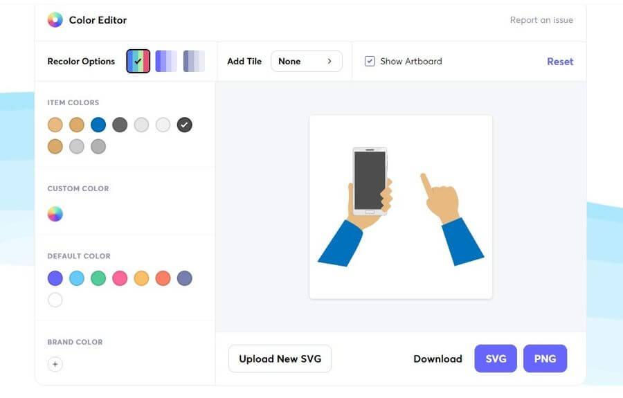 Icon Editor de Iconscout: la forma más sencilla de editar iconos SVG online