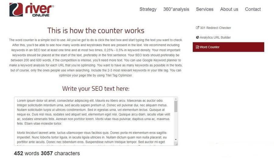 Contar palabras para SEO con estas 5 aplicaciones web de uso gratuito