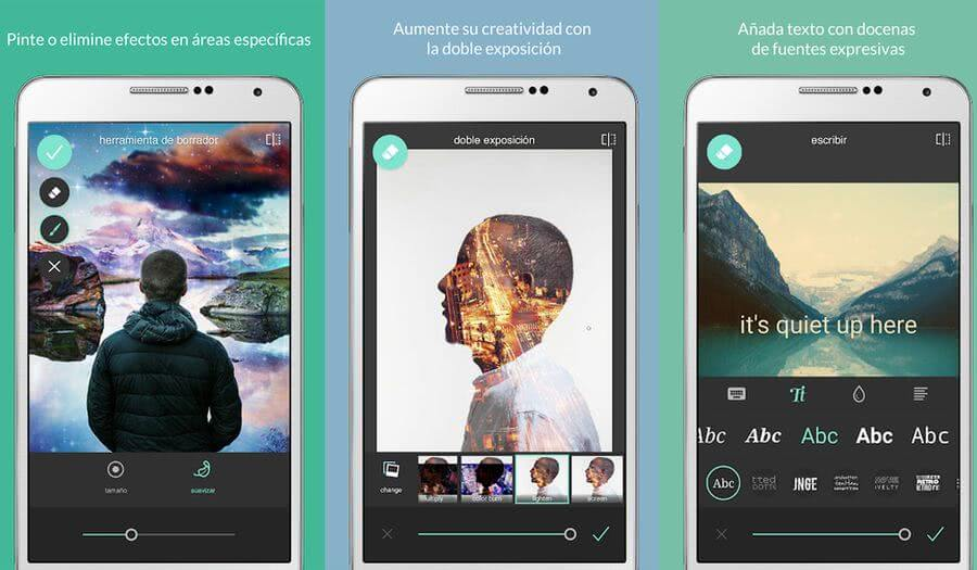 Las mejores aplicaciones para retocar fotos en tu Android