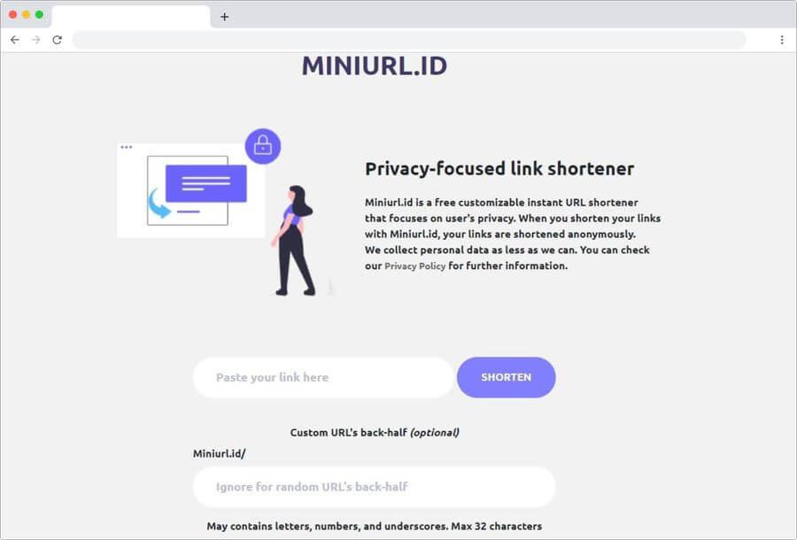 Miniurl: un acortador de enlaces que se centra en nuestra privacidad