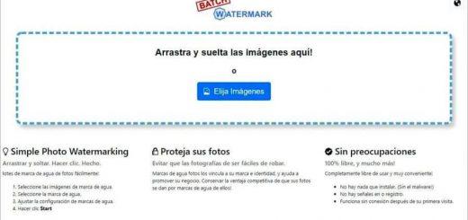 Aplicar marca de agua con Batch Watermark