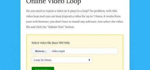 Convertir vídeo a bucle online y gratis