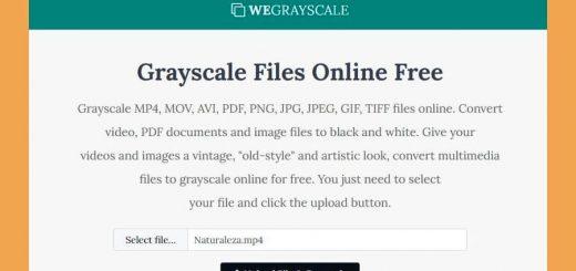 Convertir vídeos a blanco y negro con WeGrayscale