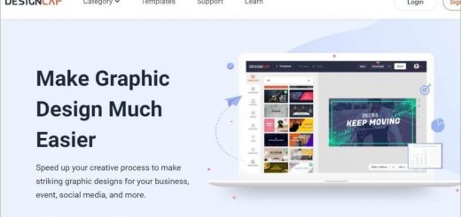 Crear diseños profesionales online con DesignCap
