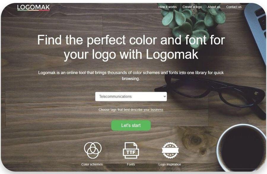 Logomak: la forma más sencilla y rápida de crear gratis tus logotipos