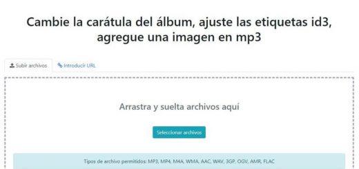 Editar online etiquetas ID3 de archivos MP3