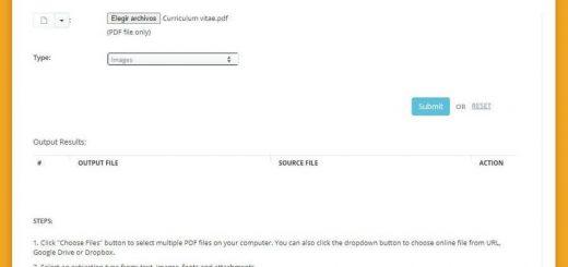 Extraer imágenes de PDF gratis y online