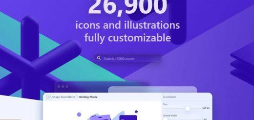 Miles de iconos e ilustraciones personalizables