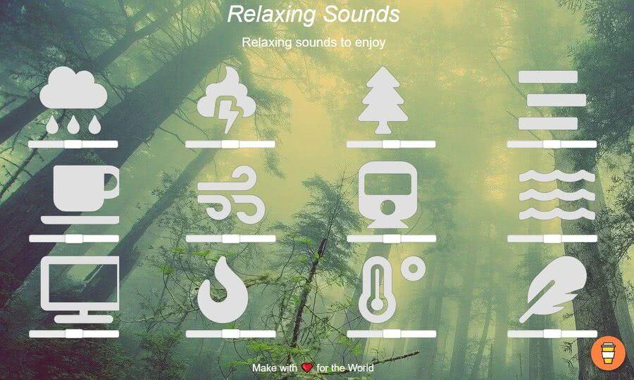 Relaxing Sounds: escuchar sonidos relajantes para descansar y meditar